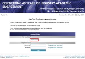 screenshot CT Administration site